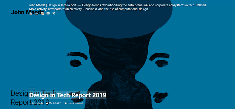 Design in Tech Report 2019