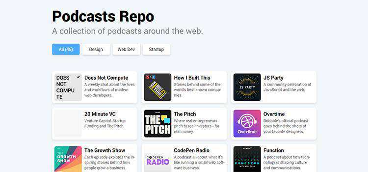 Podcasts Repo
