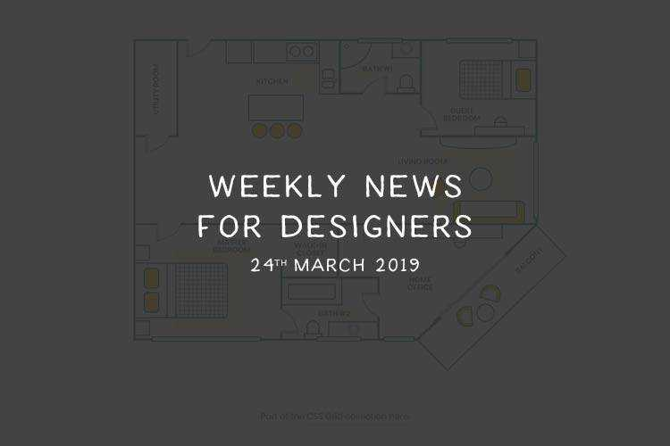 Weekly News for Designers № 480 - Responsive Images, CSS Floor Plan, UX Books, Typography in Design Systems