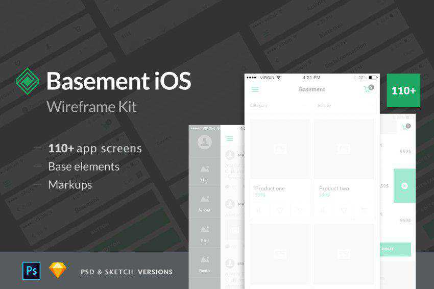 Basement-iOS-Wireframe-Kit