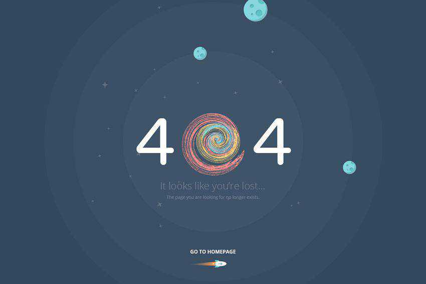 It looks like you are lost 404 page not found web design inspiration