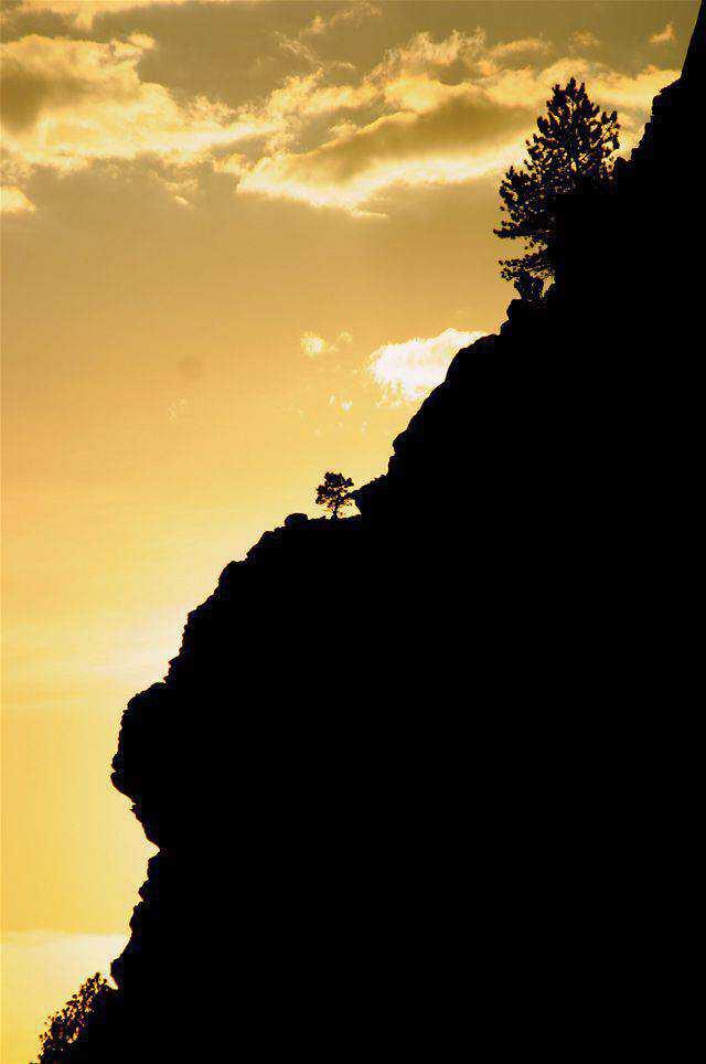 backlit photography photographer shot photo South Dakota Sunset backlit example imagery