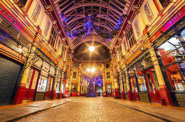 Leadenhall Market in a gallery of Seasonal and Christmas Photography