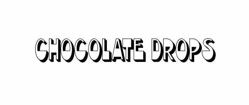 Chocolate Drops Font Chunky 3d Free Font