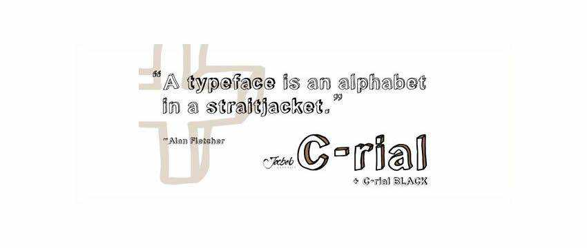 C Rial Chunky 3d Free Font