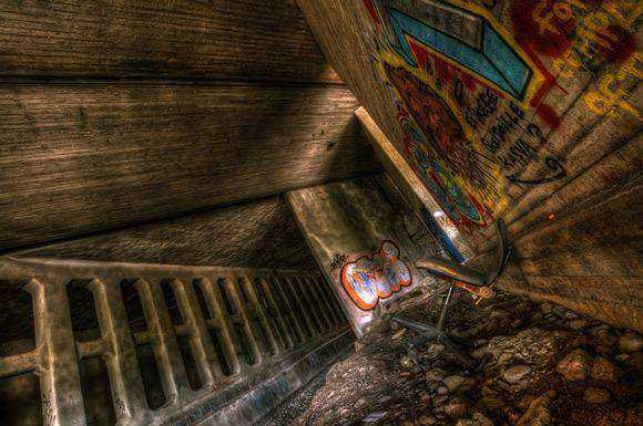 unusual creative angle shot photography gallery Enter the Under Ground