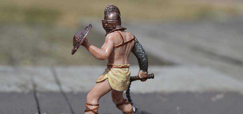 Gladiator toy.