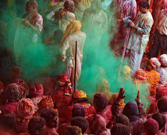 Holi documentary photography