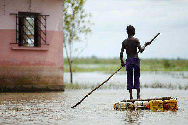Floods in Benin powerful photography documentary