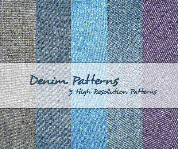 Denim Patterns free for Photoshop PAT