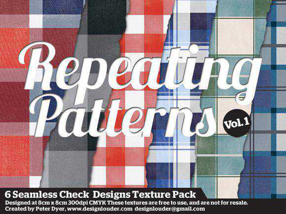 6 Check Pattern free for Photoshop PAT