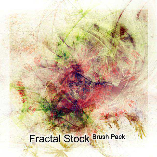 DA Stock Brush Pack photoshop brushes free fractal