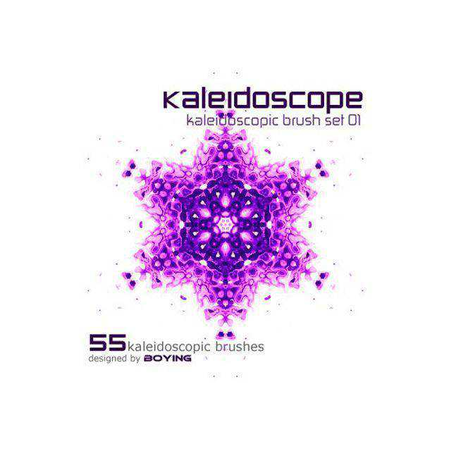 Kaleidoscope photoshop brushes free fractal
