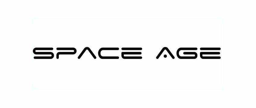 Space Age Fonts techno fonts download