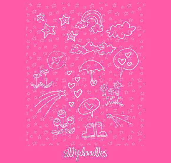 Photoshop Doodles by arwenita scribble doodle