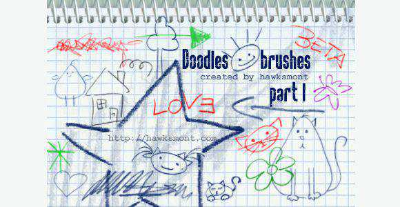 Photoshop Doodles by hawksmont scribble doodle