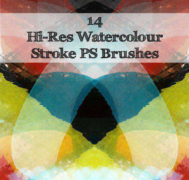 Water Color Stroke Brushes