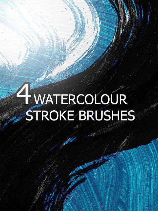 Splatter and Water color Brushes