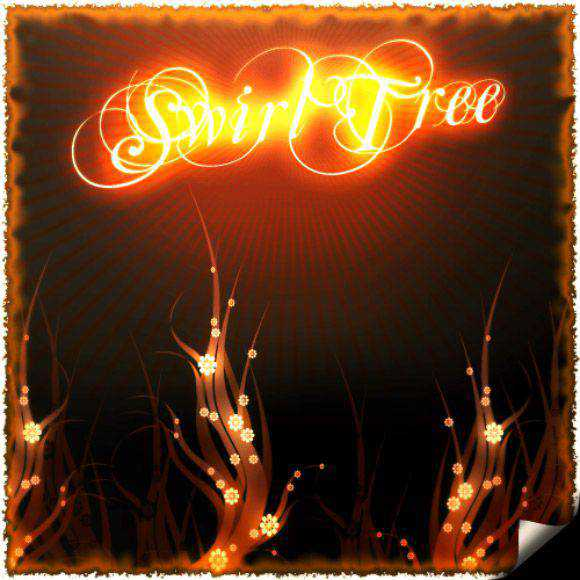 Photoshop Brushes free designers Swirl Tree Brushes