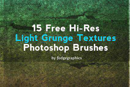 light grunge distressed free photoshop brush pack set adobe
