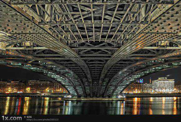 Under the Bridge Architectural Photography with an HDR style