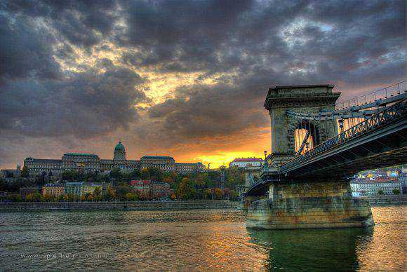 Budapest in Architectural hdr Photography with an HDR style