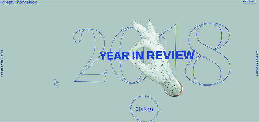 Year in Review by Green Chameleon