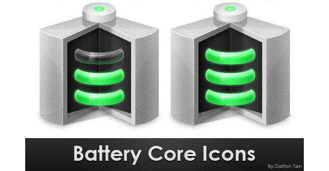 Create a Battery Core Icon in Photoshop