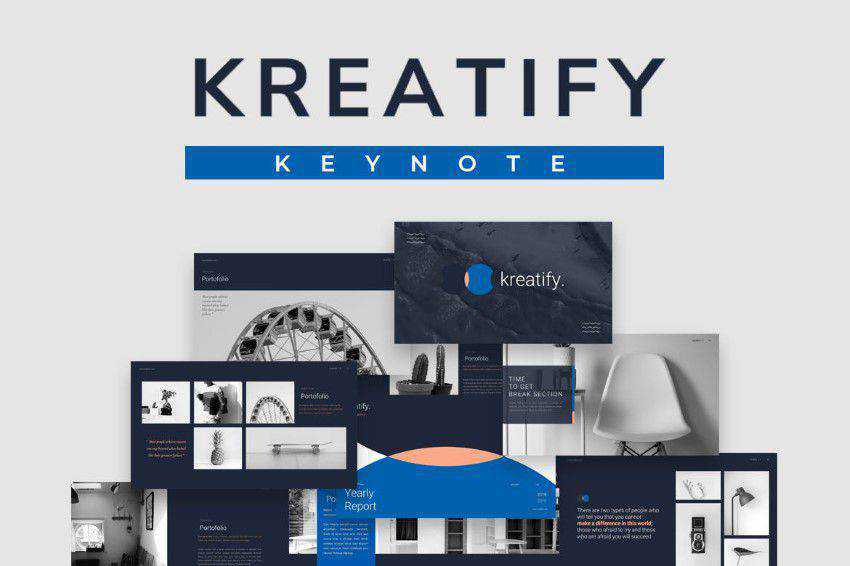 Kreatify presentation slide keynote