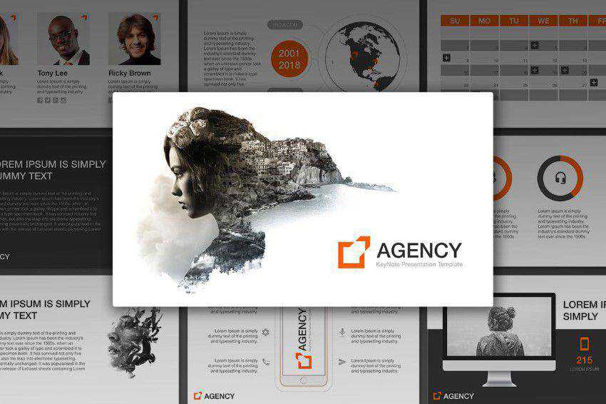 Agency presentation slide keynote