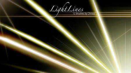 Light Lines 13 Brushes