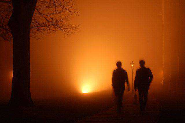monochromatic photo photography Fog Lights