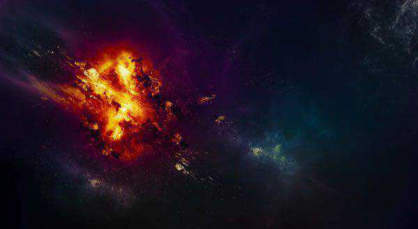 An Awesome Planet Explosion Effect in Photoshop