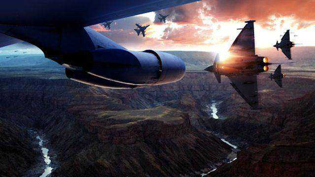 Cinematic Aerial Scene tutorial graphic designers Photoshop