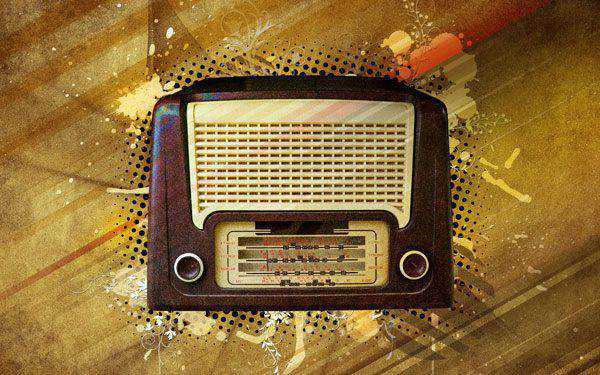 Photoshop Vintage Radio Poster Design