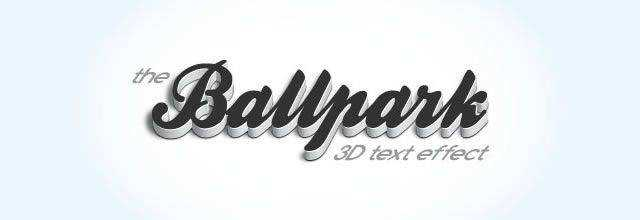 Modern 3D Text Effect text effect adobe photoshop tutorial