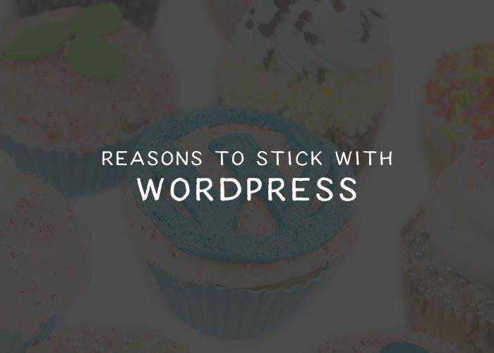 Reasons to Stick with WordPress