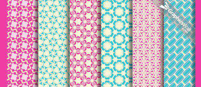 adobe photoshop freeTileable Vector Patterns comes with 6 Patterns .pat, .png, .ai & .psd