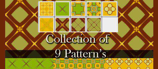 adobe photoshop freeAll Overs Dimond Square comes with 9 Patterns