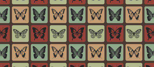 adobe photoshop freeRetro Butterflies comes with 1 Pattern .pat