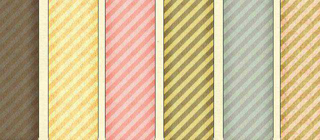 adobe photoshop freeTextured Stripes comes with 6 Patterns