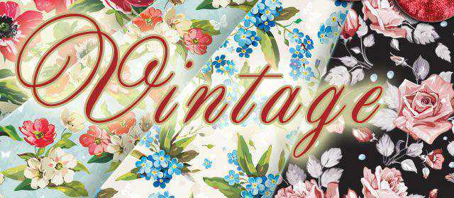 adobe photoshop freeVintage Floral Patterns comes with 5 Patterns