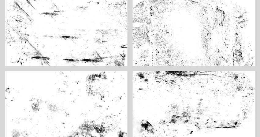 Light Grunge soft subtle textured free photoshop brush pack set adobe
