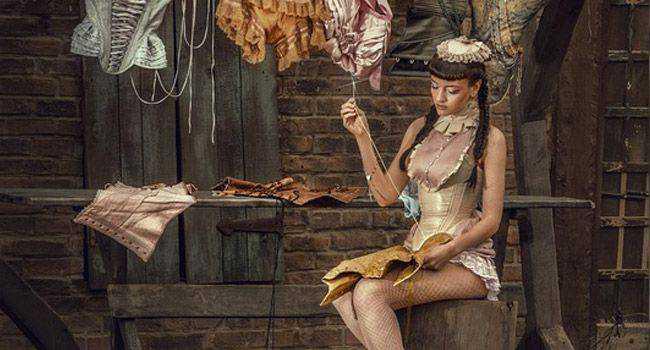 Fashion fantasy photo