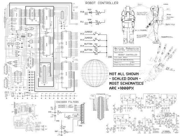 Schematics 21 Brushes
