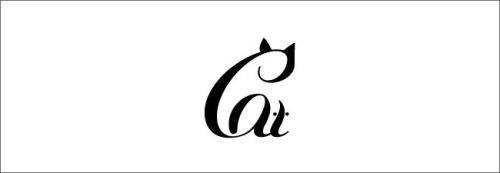 logo design clever typography inspiration