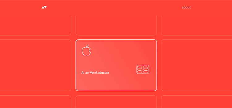 The Design of Apple's Credit Card