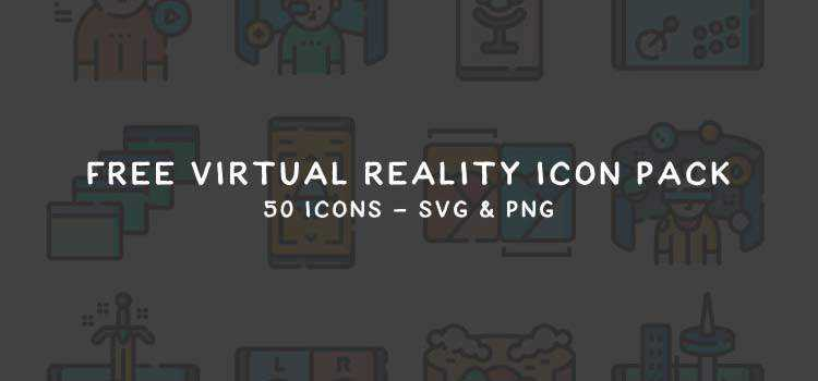 Freebie: Virtual Reality Icon Pack