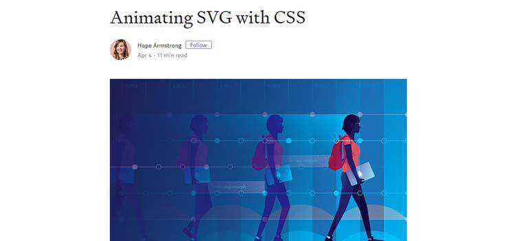 Animating SVG with CSS