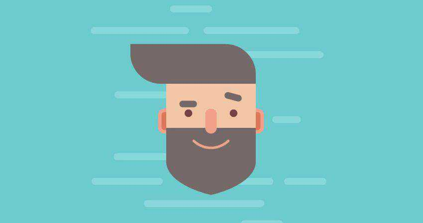 How to Design a Handsome Flat Hipster Character adobe illustrator tutorial